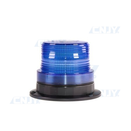 Gyrophare led bleu magnétique 16W compact ECE R65