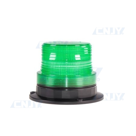 Gyrophare led vert magnétique 16W compact ECE R65