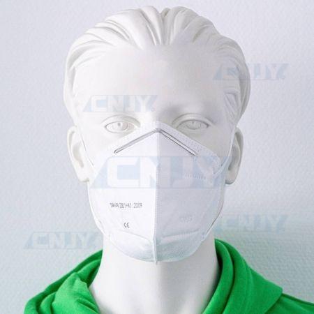Lot de 60 masques de protection respiratoire KN95 FFP2