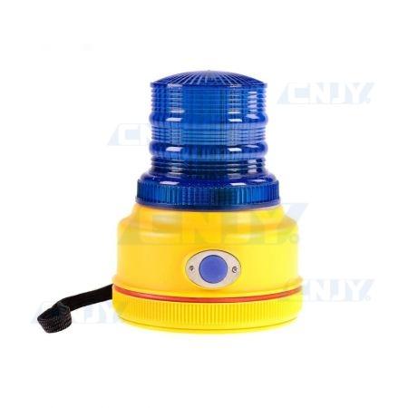 Gyrophare à led bleu magnétique autonome GYROPILOT® BA57