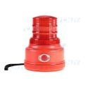 Gyrophare magnétique autonome led rouge à pile